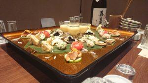 喜多屋日本酒の会 御膳 2018